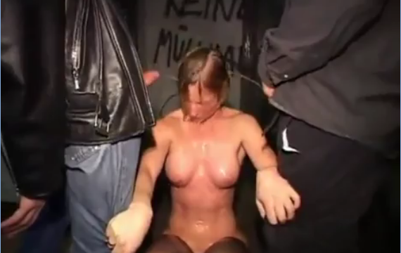 Terrified Milf Kidnapped and Raped
