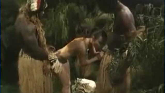 African Savages Rape An American Woman